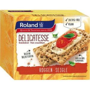 ライ麦粉を多く使用したクリスプブレッドです 軽い朝食、またはオードブルに最適です 生産国:スイス 賞味期間:420日