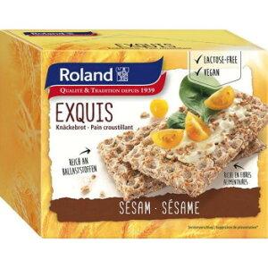 ライ麦粉を多く使用し、香ばしい胡麻の風味を利かせたクリスプブレッドです 生産国:スイス 賞味期間:300日