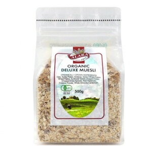 オーツ麦、大麦フレーク、レーズン等、有機栽培の12種類の素材をバランス良くブレンドしました 上品で爽やかなカルダモンの香りがアクセントになっています 生産国:イギリス 賞味期間:360