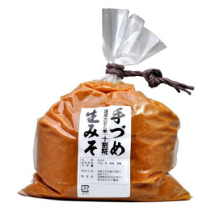 便利グッズ アイデア商品 丸正醸造 手づめ生味噌 十割糀 1.2kg×10袋 お得 な全国一律 送料無料