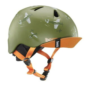 スポーツ・アウトドア 関連 bern バーン ヘルメット キッズ NINO MT GREEN DOGFIGHT XS-S BE-VJBMGDV-11 おすすめ 送料無料 おしゃれ