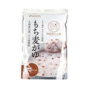 九州産の白米・もち麦使用 もち麦のもちもち・ぷちぷちとした食感が楽しめるおかゆです 生産国:日本 内容量:250g 賞味期間:545日