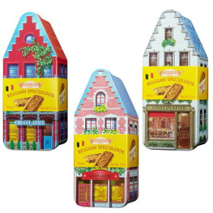スイーツ・お菓子関連 VERMEIREN(ベルメーレン) カラメルビスケット オリジナルハウス缶A 6個セット オススメ 送料無料