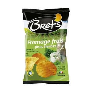お取り寄せグルメ 食べ物 Brets(ブレッツ) ポテトチップス フロマージュ&ハーブ 125g×10袋 お得 な全国一律 送料無料