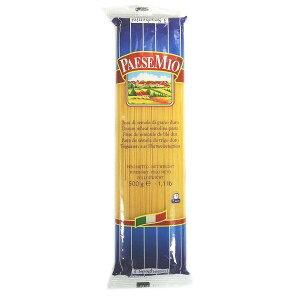 お取り寄せグルメ 食べ物 ボーアンドボン パエーゼミオパスタ スパゲッティーニ NO.3(1.50mm) 500g×24個 お得 な全国一律 送料無料