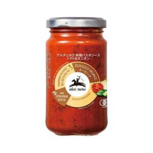 お取り寄せグルメ 食べ物 アルチェネロ 有機パスタソース トマト&オニオン 200g 12個セット C3-24 お得 な全国一律 送料無料