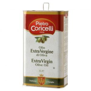 お取り寄せグルメ 食べ物 ピエトロコリチェッリ エキストラヴァージンオリーブオイル 3000ml 4缶セット 31 お得 な全国一律 送料無料