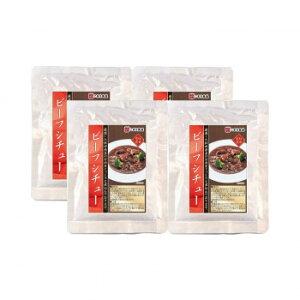 お取り寄せグルメ 食べ物 こまち食品 ビーフシチュー 4袋セット お得 な全国一律 送料無料