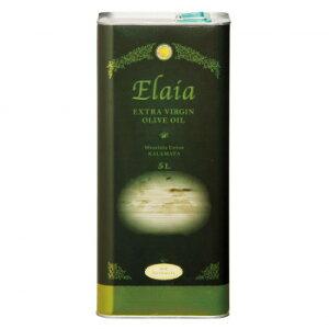 そらみつ ギリシャ産エクストラバージンオリーブオイル EXエライアグリーン 5L缶(海)×4缶