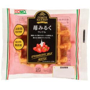 コモのパン 苺みるくワッフル ×24個セット 人気 商品 送料無料