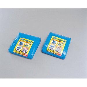 厚手 レジャー・家庭園芸 DIY ブルーシート 【単品販売】ブルー B30-5472