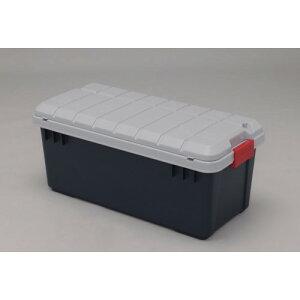 rvボックス 上蓋に小物入れが付き、収納力一段とUP おすすめ RVBOX収納フタ付 グレー/ダークグリーン 4点セット