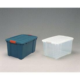収納ケース 省スペースで、収納 丈夫 バックルBOX グリーン/オレンジ 6点セット