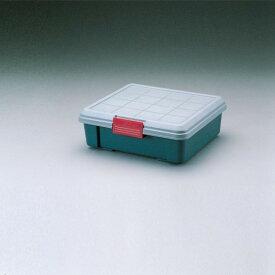 収納ボックス 工具の収納に最適 ケース RVBOX グレー/ダークグリーン 6点セット