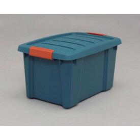 工具 資材 省スペースで、収納 頑丈 バックルBOX グリーン/オレンジ 10点セット