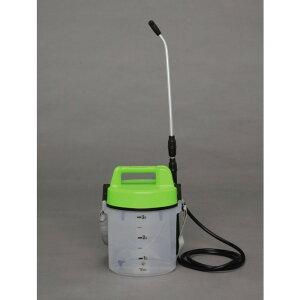 電動噴霧器 噴霧能力(約):240cc/分 便利 生活 電池式噴霧器 【単品販売】グリーン/クリア IR-N3000