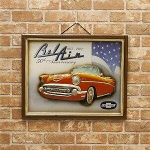 インテリア 店舗用 プレート アンティークボード Chevrolet 50th Anniversary