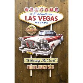 インテリア plate 看板 アメリカンスタイルウォールデコ Las Vegas