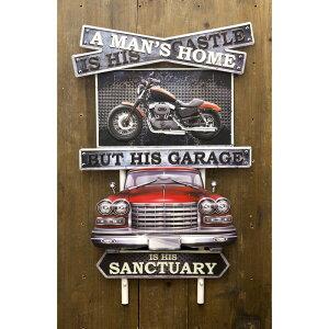 インテリア plate プレート アメリカンスタイルウォールデコ A Man's Home