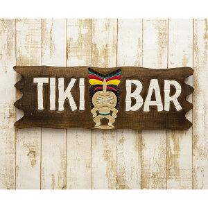 インテリアプレート 看板 南国ビーチテイスト ビーチウォールサイン TIKI BAR