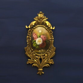 ウォールデコ どこに飾っても合う ヨーロピアン ジョセフィーヌウォールデコレーション リーフ GOLD