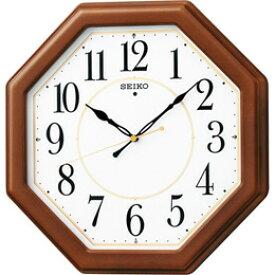 日用品雑貨関連 セイコー 電波木枠掛時計 C8060067 C9060586