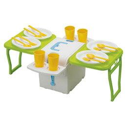 日用品雑貨 関連商品 ウイングクーラーキャリーキューブ(食器付)