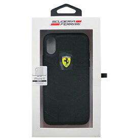 生活関連グッズ Ferrari 公式ライセンス品 iPhoneX専用 ナイロンハードケース FERRARI SF HYRBID CASE IPHONE X RACING TYRES DAPHNE BLACK FESCODHCPXBK ケース・カバー スマートフォン・携帯電話用アクセサリー 関連iPhoneXケース iPhone