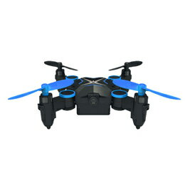 ラジコン 関連商品 ITPROTECH HDカメラ搭載 ミニドローン ブルー YT-901HSBL