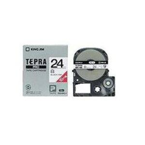 テプラ 白ラベルテープ (白テープ/黒文字/24mm幅/ロングタイプ) SS24KLお得 な全国一律 送料無料 日用品 便利 ユニーク