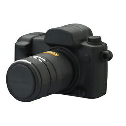 生活雑貨 GREENHOUSE 一眼レフカメラ形USBフラッシュメモリ GH-UFD4GSLR