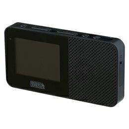 便利雑貨 YAZAWA 2.3インチ防水ワンセグテレビブラック TV05BK