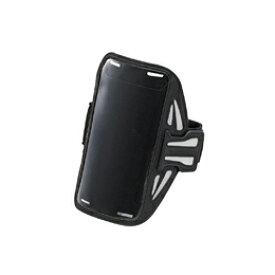 便利雑貨 エレコム スマートフォン用スポーツアームバンド(Lサイズ) P-ABC02BK スマートフォン用アームバンド・ホルスター スマートフォン・携帯電話用アクセサリー 関連その他アクセサリー スマートフォン スマートフォン・タブレット・携帯電話