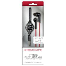 フェアレディ Z STREO EARPHONEMIC WITH REMOTE CONTROLLER BLACK NZ-ES36BK