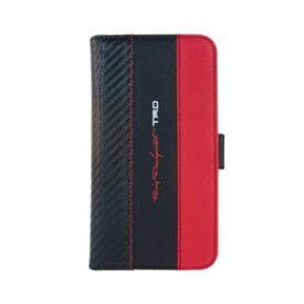 生活関連グッズ エアージェイ Carbon Leather Book Type Case for iPhone6s Plus/6 Plus TRD-P55BB6 ケース・カバー スマートフォン・携帯電話用アクセサリー 関連iPhone6 PLUSケース iPhone スマートフォン・タブレット・携帯電話