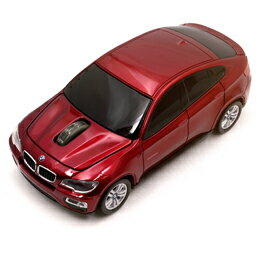 マウス BMW X650i 2.4G無線マウス 1750dpi レッド BM-X650i-RE