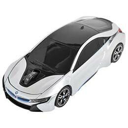 マウス BMW i8シリーズ 無線カーマウス 2.4Ghz 1750dpi シルバー BM-Pi8-SV