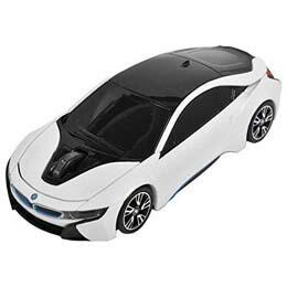 マウス BMW i8シリーズ 無線カーマウス 2.4Ghz 1750dpi ホワイト BM-Pi8-WH