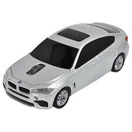 マウス BMW X6シリーズ 無線カーマウス 2.4Ghz 1750dpi シルバー BM-X6M-SV