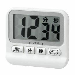 便利雑貨 防滴デジタルタイマー ホワイト T41WH
