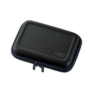 パソコンパーツ関連 ポータブルHDDケース(セミハード) HDC-SH002BK オススメ 送料無料