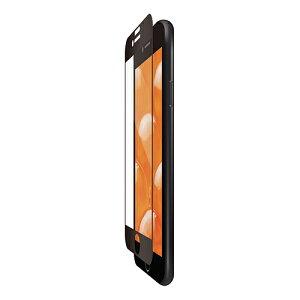 スマートフォン関連 iPhone SE 第2世代/フルカバーフィルム/衝撃吸収/防指紋/反射防止/ブラック PM-A19AFLPRBK おすすめ 送料無料 おしゃれ
