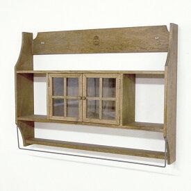 キャビネット シェルフ 壁掛けでも置きでも使用可能!!インテリア 収納 家具 木製 ラック ディスプレイ棚