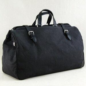 旅行 バッグ ボストン 職人が一つづつ丹精を込めて製作 おしゃれ 織人ダレスボストンバッグ 国産トラベルバッグ本革付属 ブラック