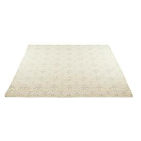 ベッドスプレッド 清涼感のある風合い 人気商品 マルチカバー 200×200cm グレイ