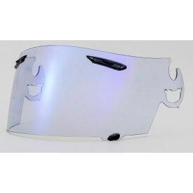バイク用品 ヘルメット 関連 EXTRAシールド 【ARAI スーパーアドシスI】 ライトスモーク/ブルー【RX-7RR5/ASTRO-IQ/QUANTUM-J/RAPIDE-IR対応】