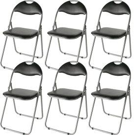 オフィス家具 オフィスチェア 会議用チェア 関連 パイプ椅子 会議用椅子 ミーティングチェアIK-0102 【6脚入り/1セット】