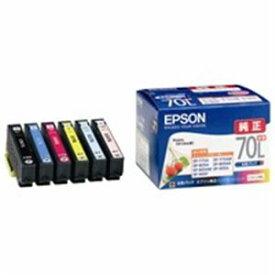 パソコン・周辺機器 EPSON(エプソン) インクカートリッジIC6CL70L 6色パック増量
