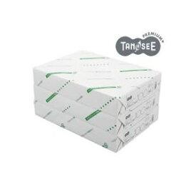 (まとめ)TANOSEE αエコグロスコート100g A4 500枚入×3冊/箱