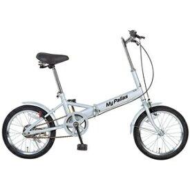 自転車・サイクリング 小径自転車・ミニベロ 関連 生活日用品 雑貨 折りたたみ自転車 M-101 16インチ シルバー